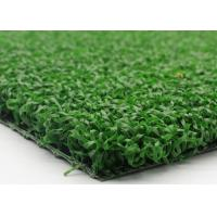 Quality Artificial Plastic Grass Field Hockey Turf With Curled Yarn Army Green Color for sale