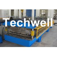 Quality Custom Automatic Double Layer Sheet Roll Forming Machine With High Quality TW-DLM for sale