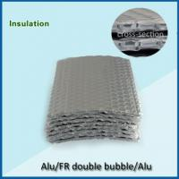 Quality double bubble 360gsm double sided aluminum foil backed insulation for sale