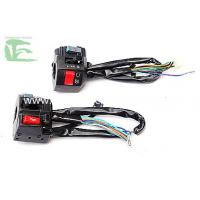 China Black 150-200CC Motorcycle Switches Handlebar / SWITCH HANDLE COMP on sale