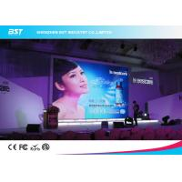 Quality High Refersh rate P10 indoor full color LED Screen For Stage / Exhibition with 1/8 scan for sale