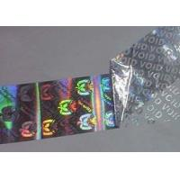 Quality Rainbow Color Customized 3D Hologram Sticker For Strengthen Brand Image for sale