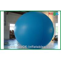 Quality Blue Color Helium Inflatable Grand Balloon For Outdoor Show Event for sale
