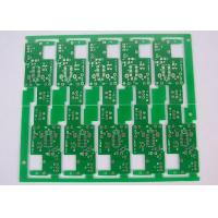 Quality Stamp Hole Connected 1 Layer Single Sided PCB ROHS HASL Lead Free for sale
