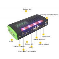 Quality Chinese factory jump starter power bank with LED light for sale