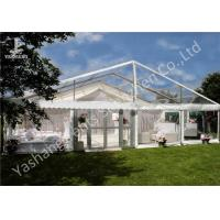 Buy cheap Beautiful Partition Wall Decorated Aluminum Large Outdoor Wedding Reception Tents 20x30M from wholesalers