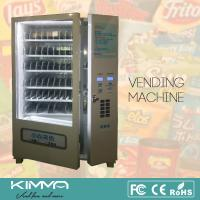 China Big Capacity Automatic Drinks Center Drink Vending Machine Operated By Bill And Card on sale