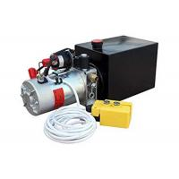 China CE certificate DC12v/24v hydraulic power unit with plastic oil tank manual valve for sale
