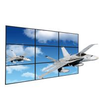 Quality 0.8mm Narrow Bezel Seamless Video Wall , Anti Static 2x2 Lcd Screen Wall for sale