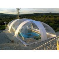 Quality Easy Install PVC Bubble Dome Tent Cover , Inflatable Swimming Pool Dome Tent for sale