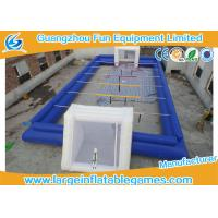 Quality 0.55MM PVC Inflatable Football Pitch Inflatable Soccer Playground for sale