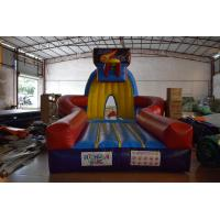 Quality PVC Material Inflatable Sport Games , Exciting Slam Dunk Inflatable Basketball Game for sale