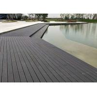 Quality Eco Waterproof Bamboo Floor Tile , Hardwood Deck Tiles 18mm Thickness for sale