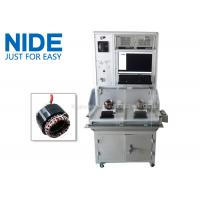 Quality NIDE Double stations electric motor stator testing panel equipment testing machine for sale