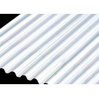 China Building Roof 6061 4mm Aluminum Sheet , Smooth Curving Corrugated Roof Sheets on sale