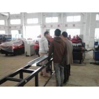 Quality C / Z Profile Cold Forming Machine Use Metal Wheels Rolling System For 4mm Thickness Plate for sale