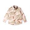 3 Color Desert Combat Tactical Shirt , Woodland Digital Law Enforcement Shirts for sale