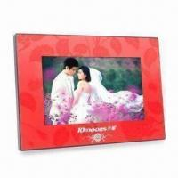Quality Digital Photo Frame with 800 x 480 Pixels High Resolution and Gravity Sensor Function for sale
