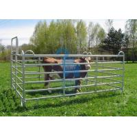 Buy Galvanised Portable Livestock Fence Panels , Steel Tube Horse Fence Panels For at wholesale prices