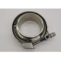 Quality Exhaust System V Bend Clamp Stainless Steel Spot Welded 4 Inch for sale