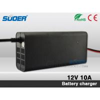 China Suoer Hot Sale Battery Charger 10A Fast Battery Charger 12V Intelligent Battery Charger wi on sale