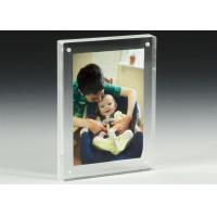 Quality Clear Acrylic OEM Factory Custom Picture Frames With Magnetics for sale