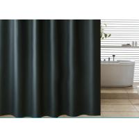 Quality Black Shading Bathroom Shower Curtains 100% PEVA Waterproof Thickening for sale