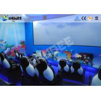 Quality Mobile Seating Chairs 5D Cinema System Spray Air / Spray Water 5D Motion Simulator for sale