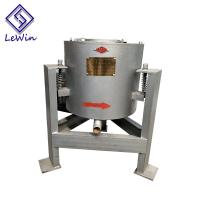 Quality Vertical Centrifugal Coconut Oil Filtering Equipment 40 - 50kg / Batch Capacity for sale
