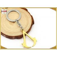 Quality Hangbag Accessories Metal Key Ring , Sliver Or Golden Plating Bulk Keychain Rings for sale