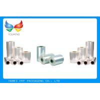 Quality 50% Heat Shrinkable PVC Sleeves Shrink Film Rolls For Tamper Proof Shrink Seals for sale