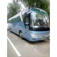 Quality second hand yutong zk6122 model diesel 55seats coach bus with AC Viedo for sale