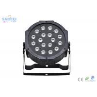 Quality Plastic Material LED Par Stage Lights With Scratch Resistant Composite Housing for sale