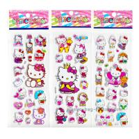 Quality Eco Green EVA Custom Puffy Stickers Hello Kitty Puffy Stickers For Girls for sale