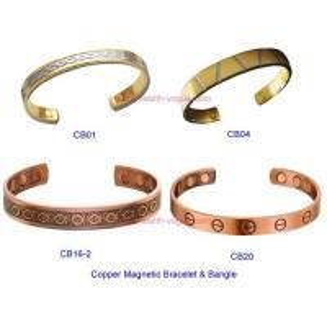 China Copper magnetic bracelet bangle on sale