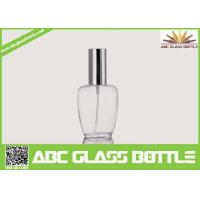 Quality Perfume Use And Screw Sealing Type Empty Clear Glass Bottle for sale