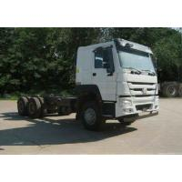 Quality Sinotruck HOWO Used International Trucks , Used Semi Trailers With 4x2 Diesel Engine for sale