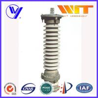 MOA Type Lightning Surge Arrestor 69KV 10KA Outdoor Porcelain Arrester for Distribution Networks
