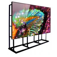 China Large Size LCD Wall Screen Monitor 3.5mm Bezel Video Controller Ultra Narrow Stitching on sale