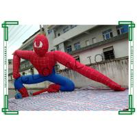 Quality Gaint Advertising Inflatables Spiderman Cartoon for Decoration for sale