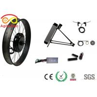 Quality 26 * 4.0 Gearless Fat Tire Electric Bike Conversion Kit With PAS System for sale