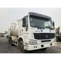 Quality ZOOMLION HOWO Used Mixer Trucks 6X4 Drive Form for sale