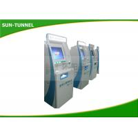 China LCD Display Floor Standing Self Service Kiosk Payment Machine With Steel Cabinet on sale