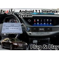 China Multi Language Android Navigation Device Video Interface For Lexus LS 500H 2019-2020 on sale