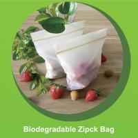 Buy cheap Safe Biodegradable Ziplock Bags Embossing Surface Handling 12cm X 17cm Size from wholesalers