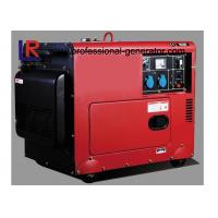 China Battery Powered Electric Start 5kw Diesel Generator With Straight Shaft Coupling on sale