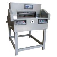 Buy cheap 550 mm Paper Guillotine/Programmable Guillotine Machine/Automatic Paper from wholesalers