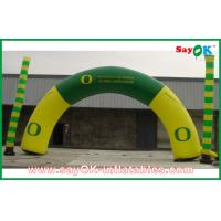 Quality PVC / Oxford Cloth Inflatable Arch With Custom Printing For Holiday for sale