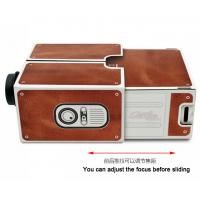 Buy cheap mini smart phone projetor source Smart phone cardboard DIY projector from wholesalers