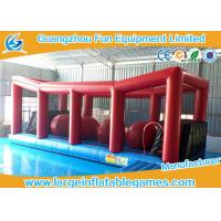Quality Extreme Big Baller Inflatable Obstacle Course Blow Up Big Ball Run 10*4m for sale
